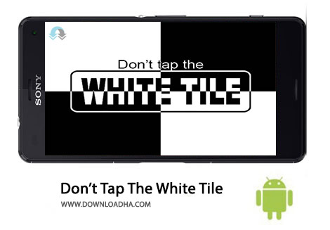 Dont Tap The White Tile Cover%28Downloadha.com%29 دانلود بازی اعتیادآور لمس کاشی ها Don't Tap The White Tile 4.0.4.3   اندروید