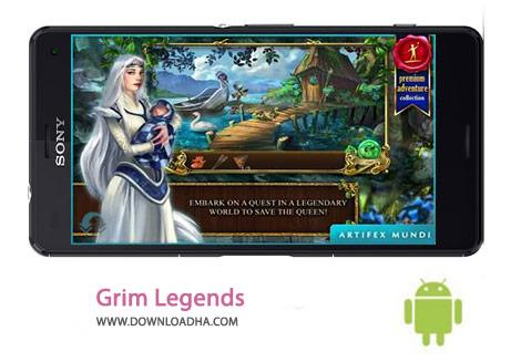 Grim Legends Cover%28Downloadha.com%29 دانلود بازی ماجرایی افسانه گریم Grim Legends 2 1.4 برای اندروید