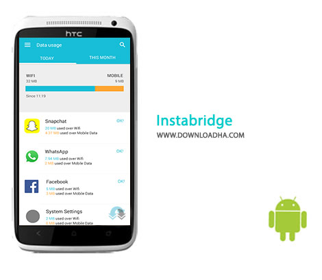 Instabridge Cover%28Downloadha.com%29 دانلود نرم افزار مدیریت وای فای Instabridge 7.7.86   اندروید