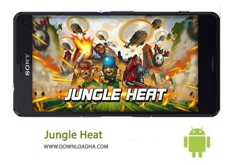Jungle Heat Cover%28Downloadha.com%29 دانلود بازی استراتژیک جنگل حرارت Jungle Heat 1.9.7 برای اندروید