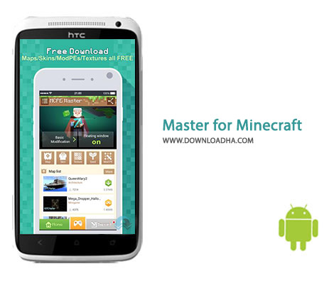 Master for Minecraft Cover%28Downloadha.com%29 دانلود پکیج اختصاصی ماینکرفت Master for Minecraft 1.3.15   اندروید