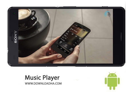 Music Player Cover%28Downloadha.com%29 دانلود موزیک پلیر قدرتمند Music Player 4.1.1 برای اندروید