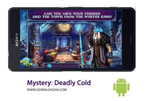 Mystery Deadly Cold Cover%28Downloadha.com%29 دانلود بازی ماجرایی رمز و راز سرمای کشنده Mystery: Deadly Cold 1.0 برای اندروید