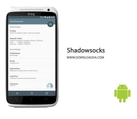 Shadowsocks Cover%28Downloadha.com%29 دانلود نرم افزار گشت و گذار ایمن در اینترنت Shadowsocks 2.9.6 برای اندروید