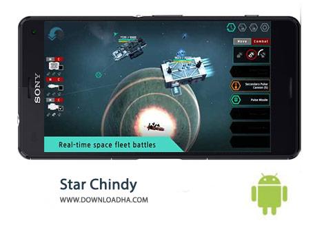 Star Chindy Cover%28Downloadha.com%29 دانلود بازی استراتژیک ستاره کیندی Star Chindy: SciFi Roguelike 2.3.6 برای اندروید