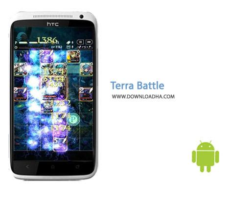 Terra Battle Cover%28Downloadha.com%29 دانلود بازی نقش آفرینی نبرد ترا Terra Battle 3.8.0 برای اندروید
