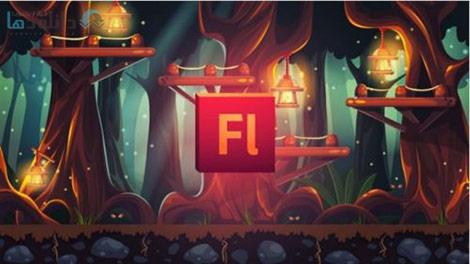 Udemy Draw All Your Own Game Art with Adobe Flash Cover%28Downloadha.com%29 دانلود فیلم آموزش طراحی فنون و صحنه های گرافیکی بازی ها توسط Adobe Flash