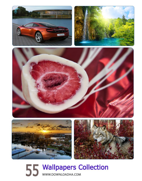 55 Wallpapers Collection Cover%28Downloadha.com%29 دانلود مجموعه 55 والپیپر متنوع