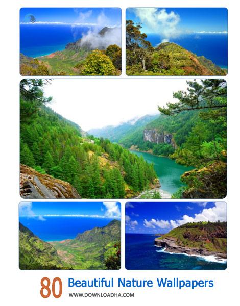 80 Beautiful Nature Wallpapers Cover%28Downloadha.com%29 دانلود مجموعه 80 والپیپر زیبا از طبیعت