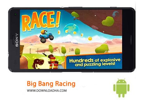 Big Bang Racing Cover%28Downloadha.com%29 دانلود بازی مسابقه ای بیگ بنگ Big Bang Racing 2.9.4   اندروید