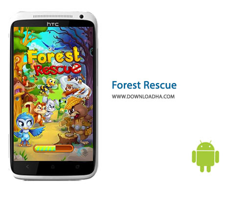 Forest Rescue Cover%28Downloadha.com%29 دانلود بازی پازل نجات جنگل Forest Rescue 4.83.0   اندروید