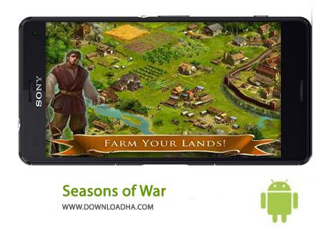 Seasons of War Cover%28Downloadha.com%29 دانلود بازي استراتژيك فصول جنگ Seasons of War 1.0.120 اندرويد