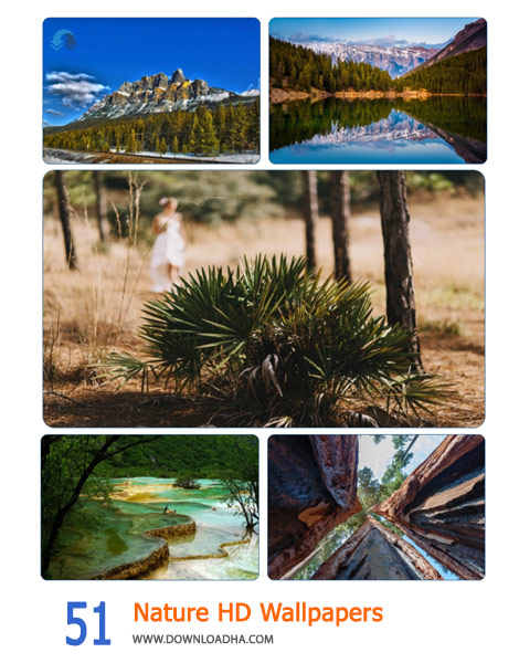 51 Nature HD Wallpapers Cover%28Downloadha.com%29 دانلود مجموعه 51 والپیپر طبیعت با کیفیت HD