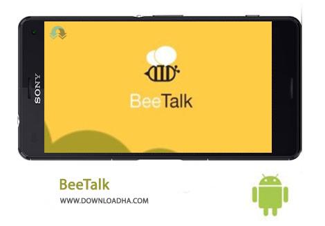 BeeTalk Cover%28Downloadha.com%29 دانلود مسنجر محبوب بی تاک BeeTalk 2.1.7   اندروید