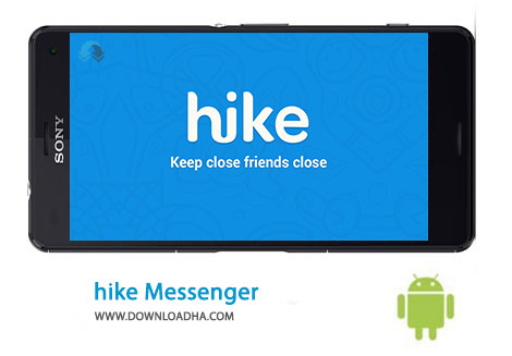 Hike Messenger Cover%28Downloadha.com%29 دانلود مسنجر هایک hike messenger 4.3.0.81   اندروید
