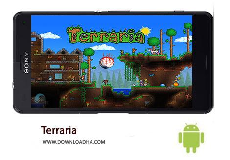 Terraria Cover%28Downloadha.com%29 دانلود بازی تراریا Terraria 1.2.12772   اندروید