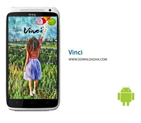 Vinci Cover%28Downloadha.com%29 دانلود نرم افزار افکت گذاری تصاویر Vinci 1.0.0.21   اندروید