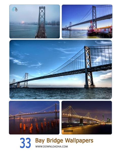 33 Bay Bridge Wallpapers Cover%28Downloadha.com%29 دانلود مجموعه 33 والپیپر از پل خلیج سانفرانسیسکو اوکلند