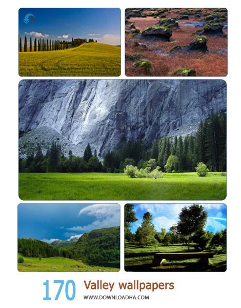 170 Valley wallpapers Cover%28Downloadha.com%29 دانلود مجموعه 170 والپیپر دره های زیبا