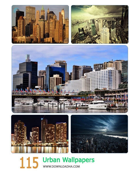 115 Urban Wallpapers Cover%28Downloadha.com%29 دانلود مجموعه 115 والپیپر شهر
