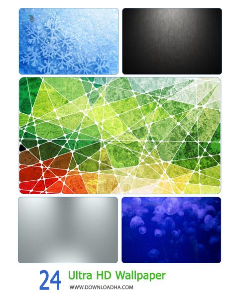 24 Ultra HD Wallpaper Cover%28Downloadha.com%29 دانلود مجموعه 24 والپیپر با کیفیت Ultra HD