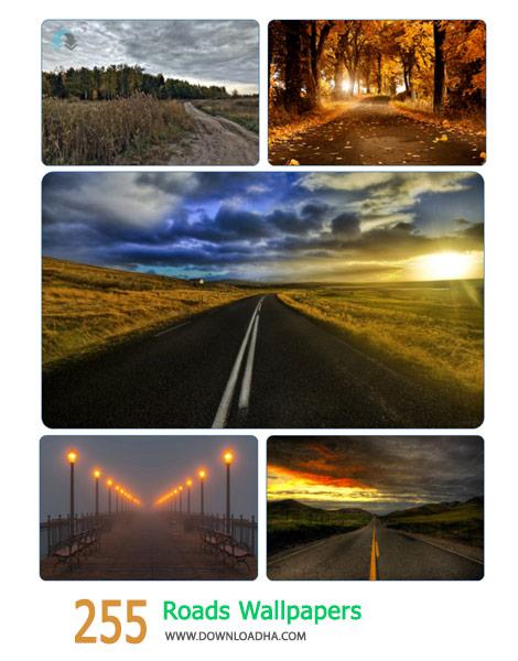 255 Roads Wallpapers Cover%28Downloadha.com%29 دانلود مجموعه 255 والپیپر جاده