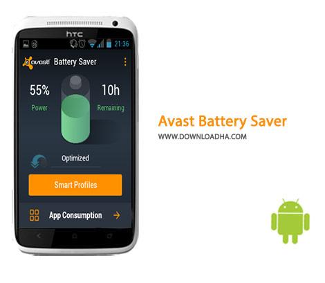 Avast Battery Saver Cover%28Downloadha.com%29 دانلود نرم افزار مدیریت مصرف باتری Avast Battery Saver 2.0.9   اندروید