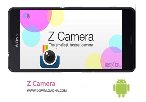 Z Camera Cover%28Downloadha.com%29 دانلود نرم افزار عکسبرداری حرفه ای Z Camera 2.32   اندروید