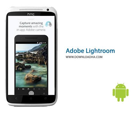 Adobe Lightroom Cover%28Downloadha.com%29 دانلود نرم افزار ویرایش حرفه ای تصاویر Adobe Lightroom 2.0.1 برای اندروید