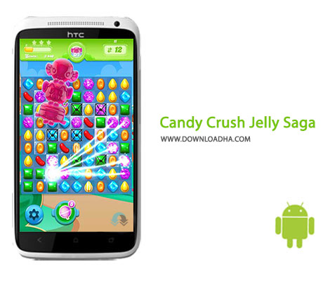 Candy Crush Jelly Saga Cover%28Downloadha.com%29 دانلود بازی کندی کراش ژله Candy Crush Jelly Saga 1.24.1   اندروید