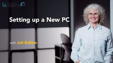 Setting Up a New PC Cover%28Downloadha.com%29 دانلود فیلم آموزش راه اندازی سیستم جدید