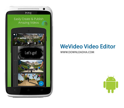 WeVideo Video Editor Cover%28Downloadha.com%29 دانلود نرم افزار تبدیل و ویرایش فیلم WeVideo Video Editor 5.8.318 برای اندروید
