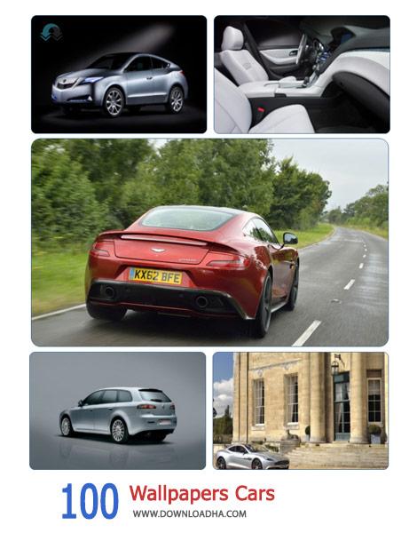 100 Wallpapers Cars Cover%28Downloadha.com%29 دانلود مجموعه 100 والپیپر ماشین