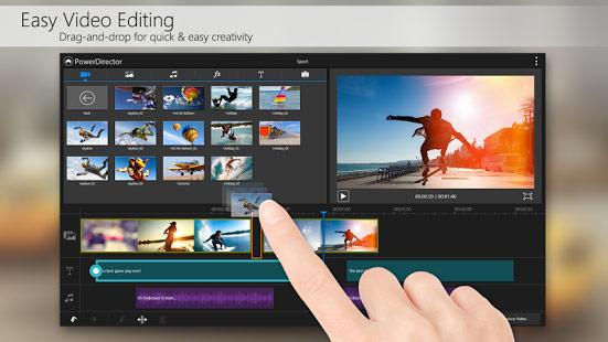 دانلود نرم افزار ویرایش قدرتمند ویدئو PowerDirector 4.0.4 – اندروید