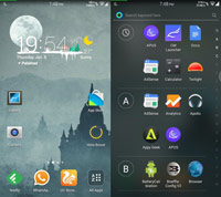 Hola Launcher ss1 s%28Downloadha.com%29 دانلود لانچر هولا Hola Launcher 2.3.1   اندروید
