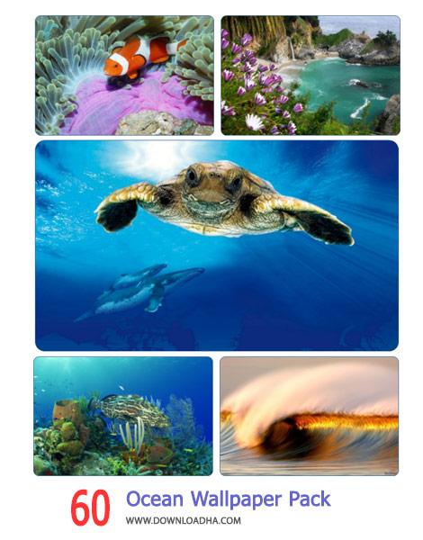 60 Ocean Wallpaper Pack 1 Cover%28Downloadha.com%29 دانلود مجموعه 60 والپیپر از اقیانوس ها