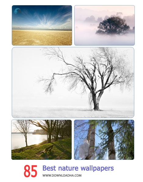 85 Best nature wallpapers pack 3 Cover%28Downloadha.com%29 دانلود مجموعه 85 والپیپر از طبیعت زیبا