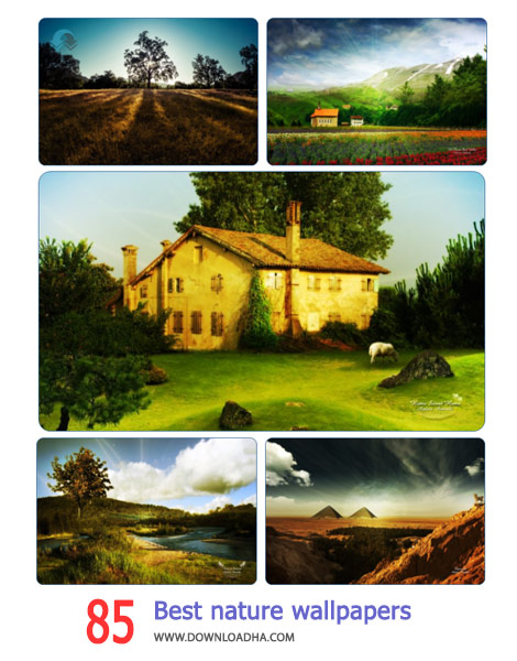 85 Best nature wallpapers pack 4 Cover%28Downloadha.com%29 دانلود مجموعه 85 والپیپر از طبیعت زیبا
