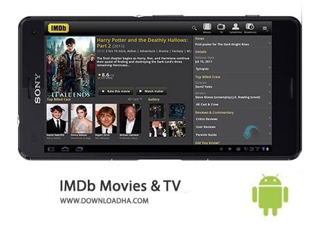 IMDb Movies %26 TV Cover%28Downloadha.com%29 دانلود نرم افزار اطلاعات جامع فیلم IMDb Movies and TV 6.2.0.106200100   اندروید