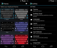 Swiftkey Keyboard ss1 s%28Downloadha.com%29 دانلود کیبرد سوئیفت SwiftKey Keyboard 6.4.1.52   اندروید