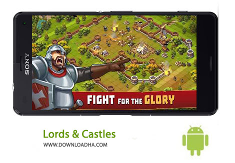 Lords %26 Castles Cover%28Downloadha.com%29 دانلود بازي استراتژيك Lords & Castles 1.38 اندرويد