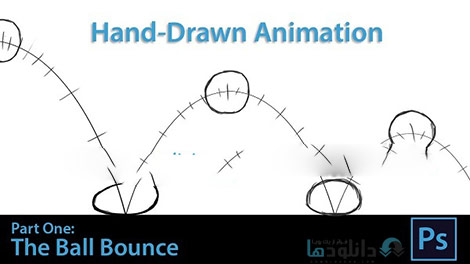 Hand Drawn Animation The Bouncing Ball Cover%28Downloadha.com%29 دانلود فيلم آموزشي طراحي دستي انيميشن