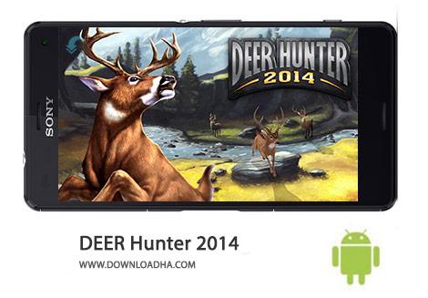 Deer Hunter Cover%28Downloadha.com%29 دانلود بازي اكشن شكارچي گوزن DEER HUNTER 2014 2.12.1 اندرويد