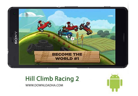 Hill Climb Racing 2 Cover%28Downloadha.com%29 دانلود بازي مسابقه اي Hill Climb Racing 2 0.46.2 اندرويد