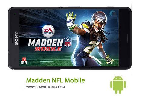 Madden NFL Mobile Cover%28Downloadha.com%29 دانلود بازي ورزشي فوتبال آمريكايي Madden NFL Mobile 3.5.0 اندرويد