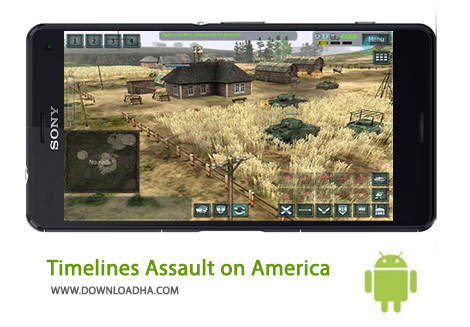 Timelines Assault on America Cover%28Downloadha.com%29 دانلود بازی استراتژیک Timelines Assault on America 1.7.11   اندروید