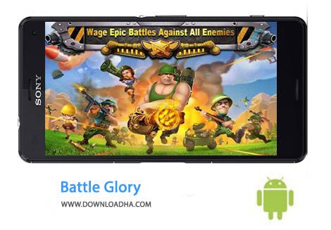 Battle Glory Cover%28Downloadha.com%29 دانلود بازي استراتژيك شكوه نبرد Battle Glory 4.04 اندرويد