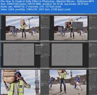 How To Create A Gritty Effect In Photoshop ss s%28Downloadha.com%29 دانلود فیلم آموزش طراحی افکت شن زار در فتوشاپ