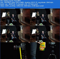 Lens Choice Changing your Model%27s Features in Camera ss s%28Downloadha.com%29 دانلود فيلم آموزش سيماهاي مختلف مدل در دوربين