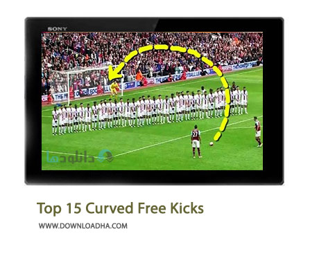 Top 15 Curved Free Kicks Cover%28Downloadha.com%29 دانلود کلیپ 15 کاشته برتر منحنی شکل